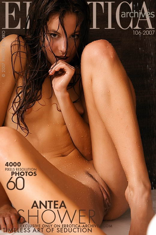 Antea - `Shower` - by Erro for ERROTICA-ARCHIVES