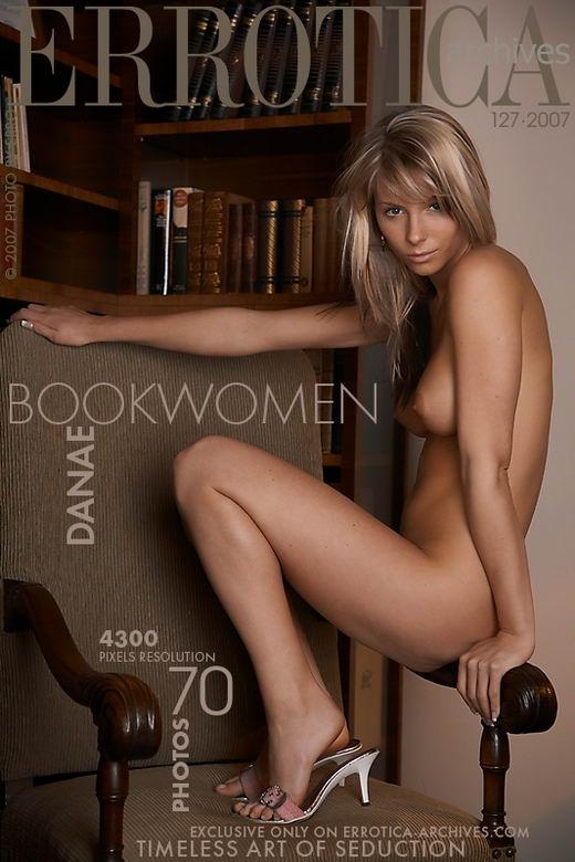 Danae - `Bookwomen` - by Erro for ERROTICA-ARCHIVES