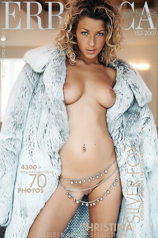 Christina - `Silver Fox` - by Erro for ERROTICA-ARCHIVES