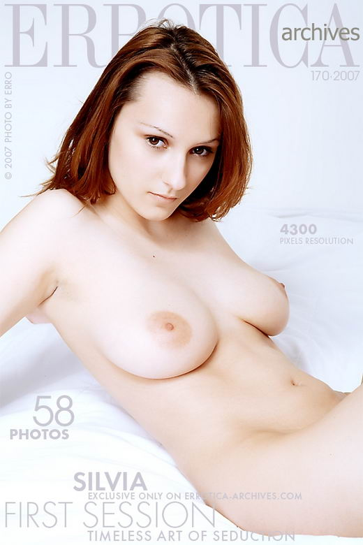 Silvia - `First Session` - by Erro for ERROTICA-ARCHIVES