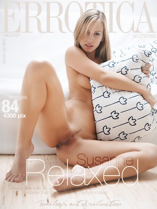 Susanne - `Relaxed` - by Erro for ERROTICA-ARCHIVES