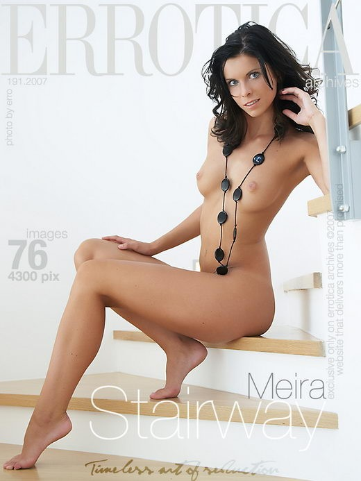 Meira - `Stairway` - by Erro for ERROTICA-ARCHIVES