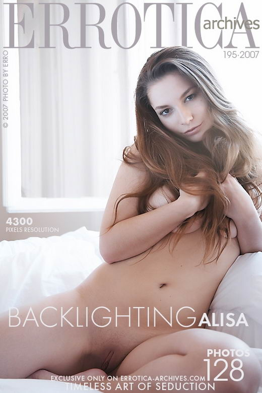 Alisa - `Backlighting` - by Erro for ERROTICA-ARCHIVES