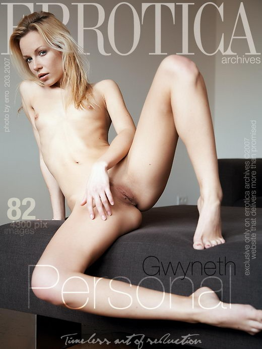 Gwyneth - `Personal` - by Erro for ERROTICA-ARCHIVES
