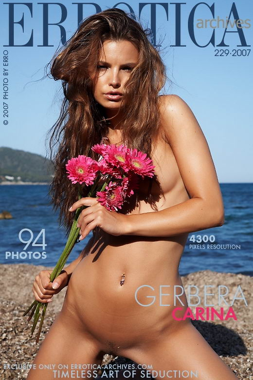 Carina - `Gerbera` - by Erro for ERROTICA-ARCHIVES