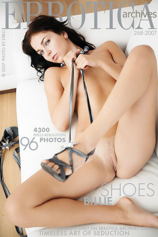 Billie - `Shoes` - by Erro for ERROTICA-ARCHIVES