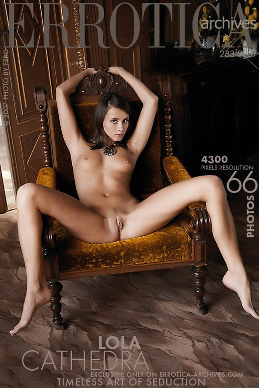 Lola - `Cathedra` - by Erro for ERROTICA-ARCHIVES