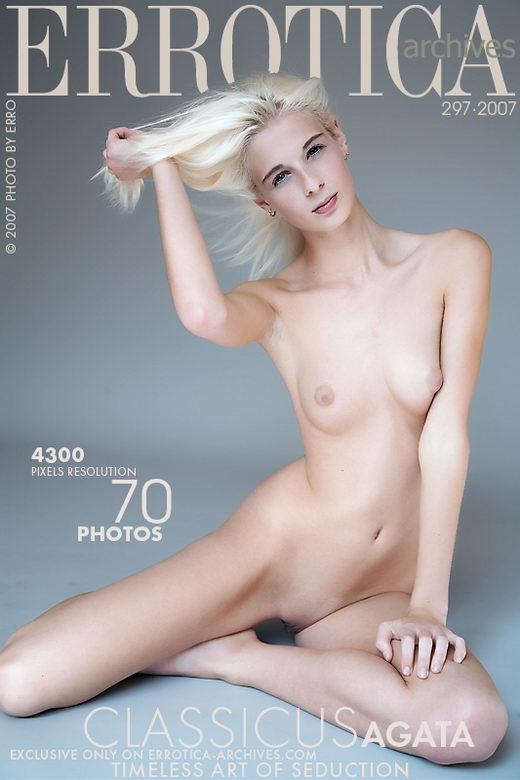 Agata - `Classicus` - by Erro for ERROTICA-ARCHIVES
