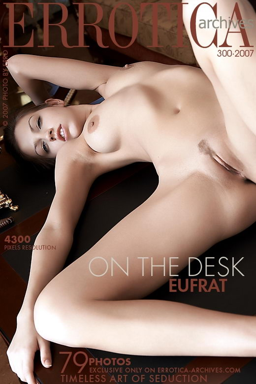 Eufrat - `On the Desk` - by Erro for ERROTICA-ARCHIVES