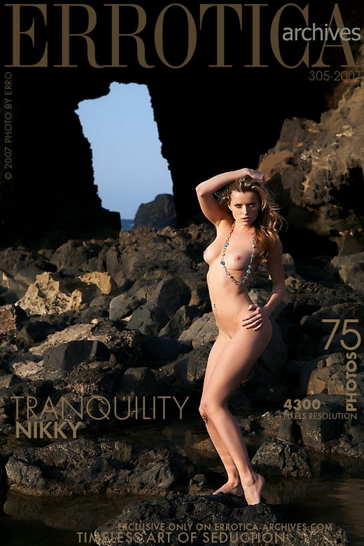 Nikky - `Tranquility` - by Erro for ERROTICA-ARCHIVES