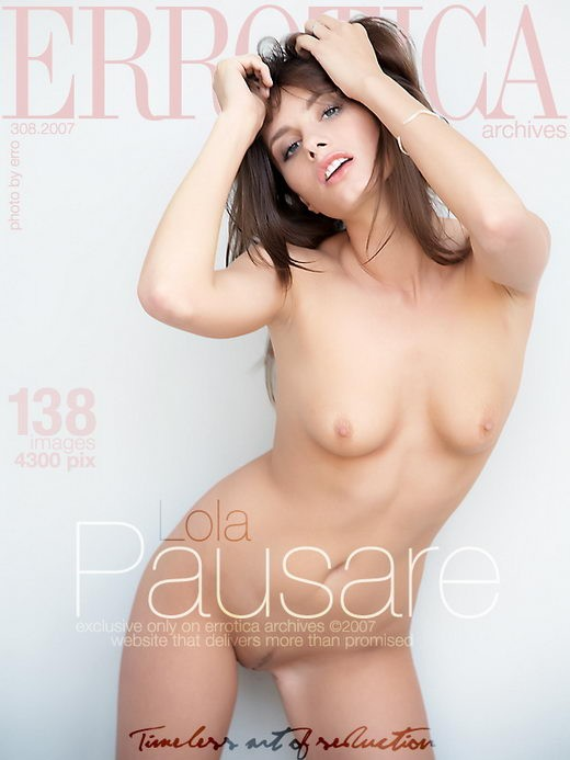 Lola - `Pausare` - by Erro for ERROTICA-ARCHIVES