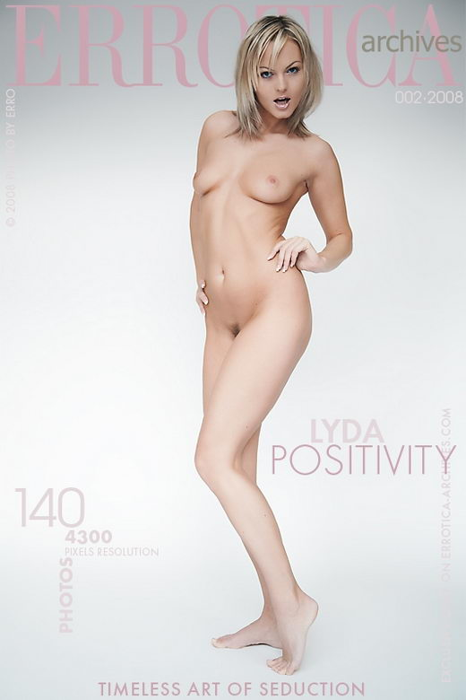 Lyda - `Positivity` - by Erro for ERROTICA-ARCHIVES