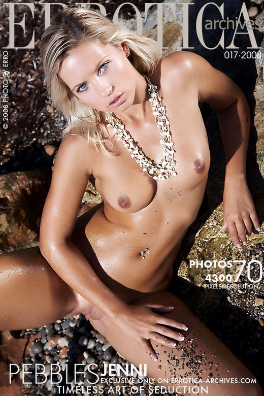 Jenni - `Pebbles` - by Erro for ERROTICA-ARCHIVES
