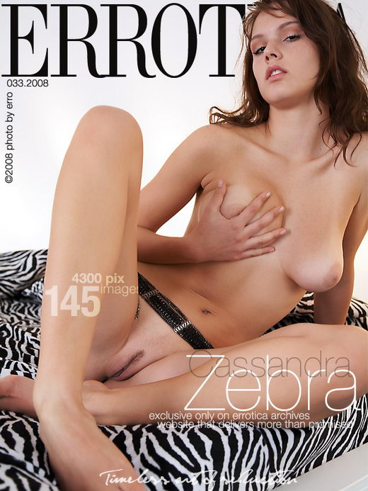 Cassandra - `Zebra` - by Erro for ERROTICA-ARCHIVES