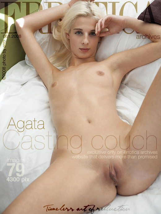 Agata - `Casting Couch` - by Erro for ERROTICA-ARCHIVES