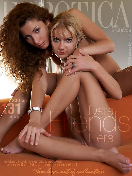Dara & Fiera - `Friends` - by Erro for ERROTICA-ARCHIVES