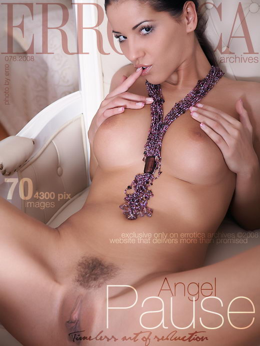 Angel - `Pause` - by Erro for ERROTICA-ARCHIVES