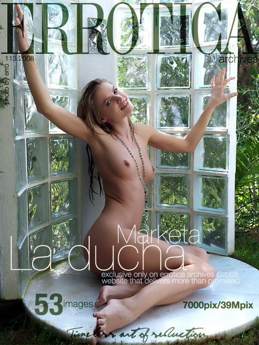 Marketa - `La Ducha` - by Erro for ERROTICA-ARCHIVES