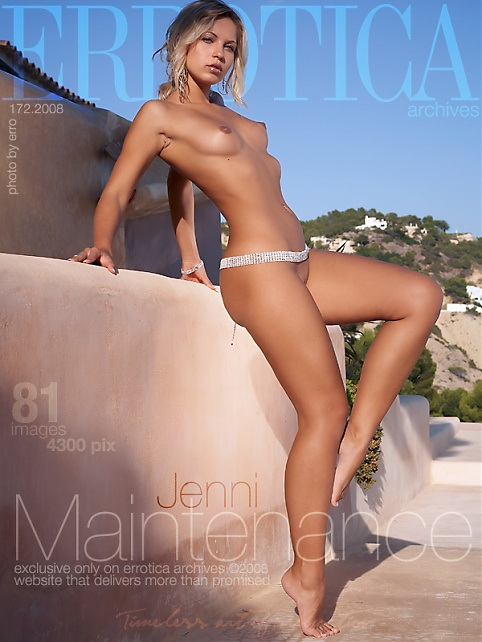 Jenni - `Maintenance` - by Erro for ERROTICA-ARCHIVES