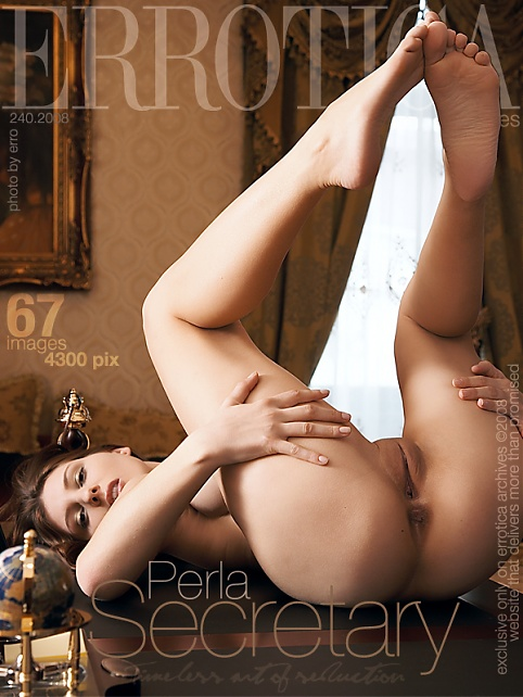 Perla - `Secretary` - by Erro for ERROTICA-ARCHIVES