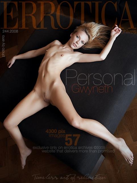 Gwyneth - `Personal` - by Erro for ERROTICA-ARCHIVES