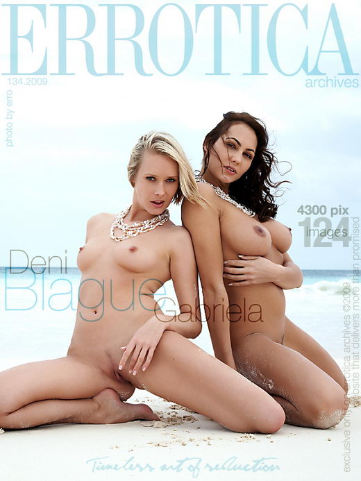 Deni & Gabriela - `Blague` - by Erro for ERROTICA-ARCHIVES