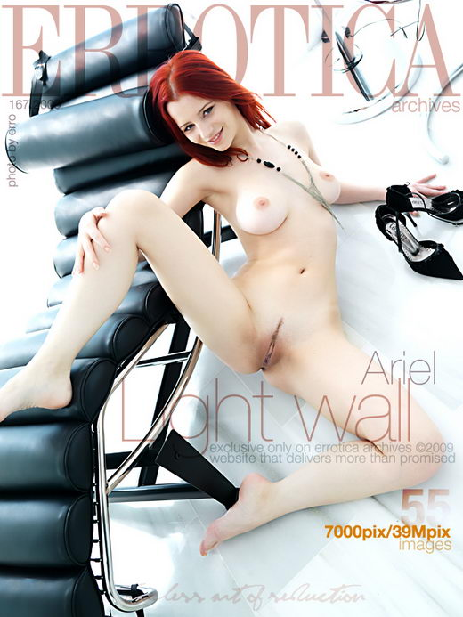 Ariel - `Light Wall` - by Erro for ERROTICA-ARCHIVES