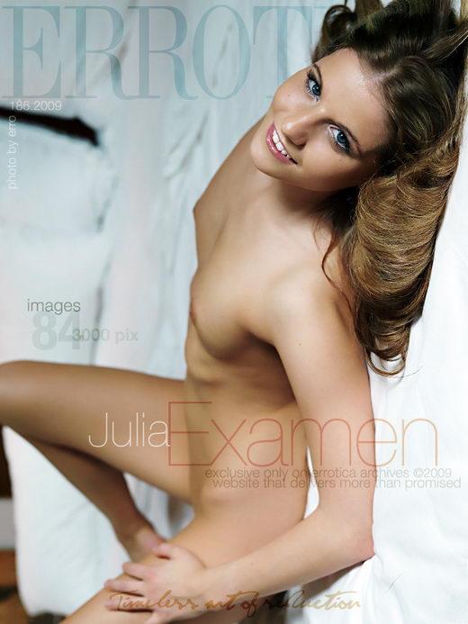 Julia - `Examen` - by Erro for ERROTICA-ARCHIVES