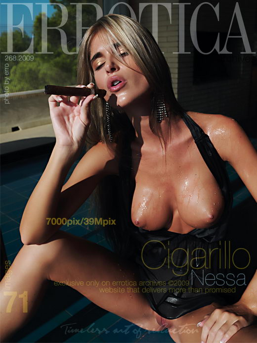 Nessa - `Cigarillo` - by Erro for ERROTICA-ARCHIVES