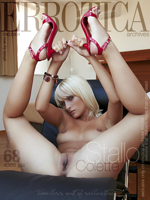 Colette - `Stallo` - by Erro for ERROTICA-ARCHIVES