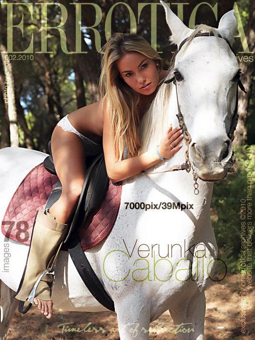 Verunka - `Caballo` - by Erro for ERROTICA-ARCHIVES