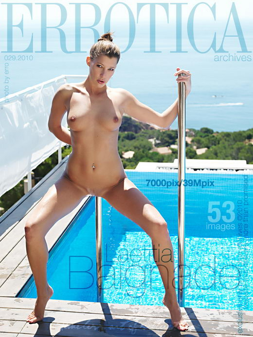 Laetitia - `Baignade` - by Erro for ERROTICA-ARCHIVES