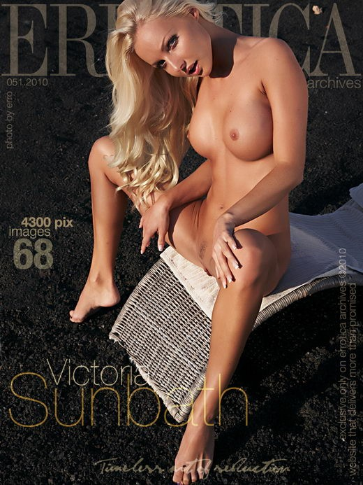 Victoria - `Sunbath` - by Erro for ERROTICA-ARCHIVES