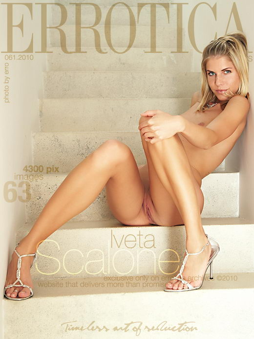 Iveta - `Scalone` - by Erro for ERROTICA-ARCHIVES