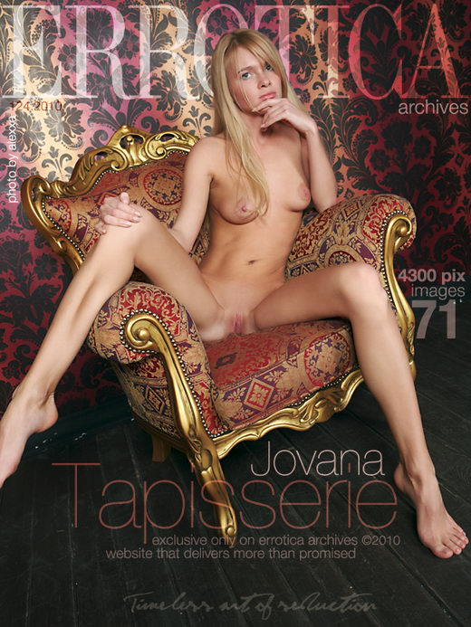 Jovana - `Tapisserie` - by Erro for ERROTICA-ARCHIVES