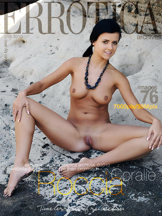Coralie - `Roccia` - by Erro for ERROTICA-ARCHIVES