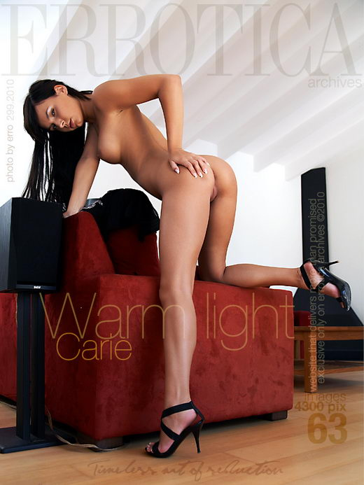 Carie - `Warm Light` - by Erro for ERROTICA-ARCHIVES