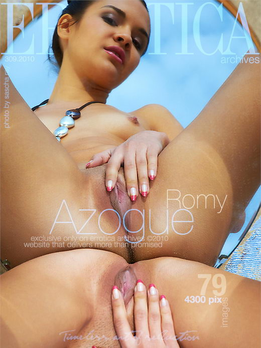 Romy - `Azogue` - by Sascha Ray for ERROTICA-ARCHIVES