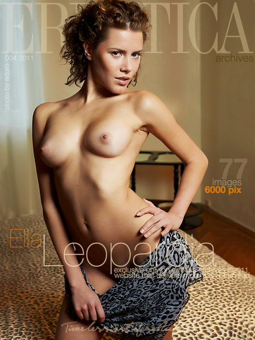 Ella - `Leopardia` - by Erro for ERROTICA-ARCHIVES
