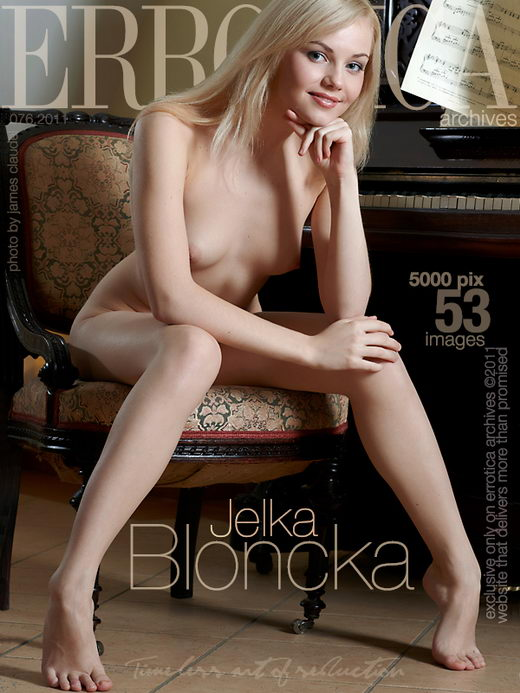 Jelka - `Bloncka` - by Erro for ERROTICA-ARCHIVES