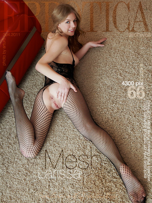 Larissa - `Mesh` - by Arturo for ERROTICA-ARCHIVES
