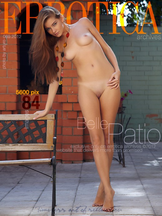 Belle - `Patio` - by Arturo for ERROTICA-ARCHIVES