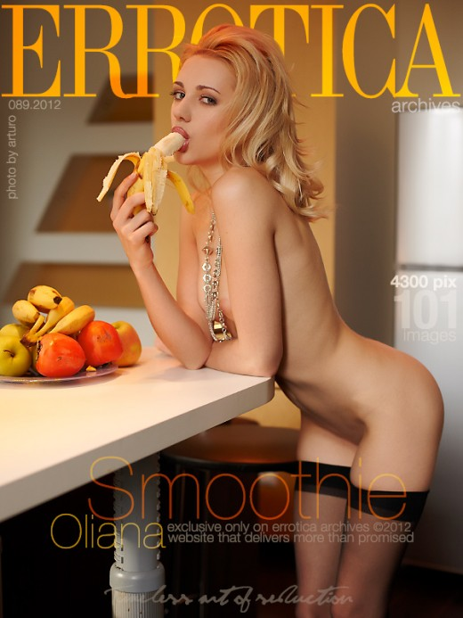 Oliana - `Smoothie` - by Arturo for ERROTICA-ARCHIVES