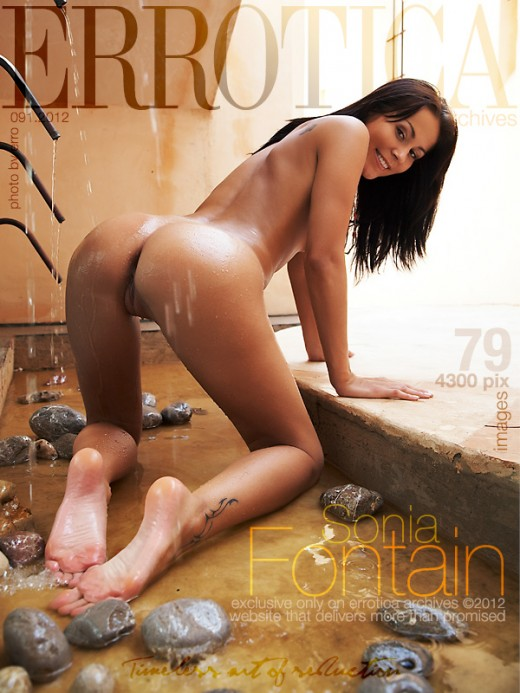 Sonia - `Fontain` - by Erro for ERROTICA-ARCHIVES