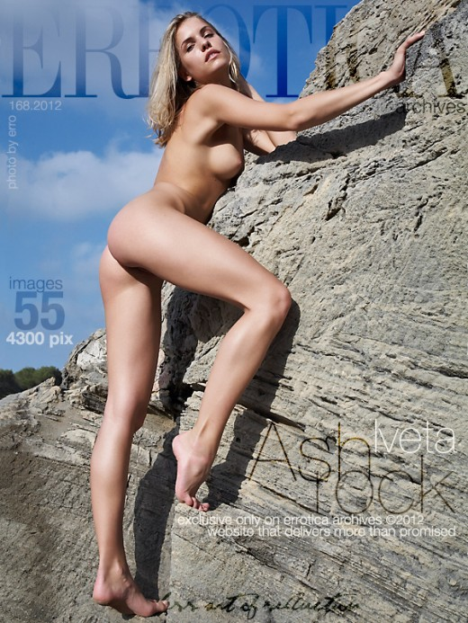 Iveta - `Ash Rock` - by Erro for ERROTICA-ARCHIVES