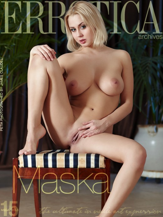 Petia - `Maska` - by James Claudel for ERROTICA-ARCHIVES