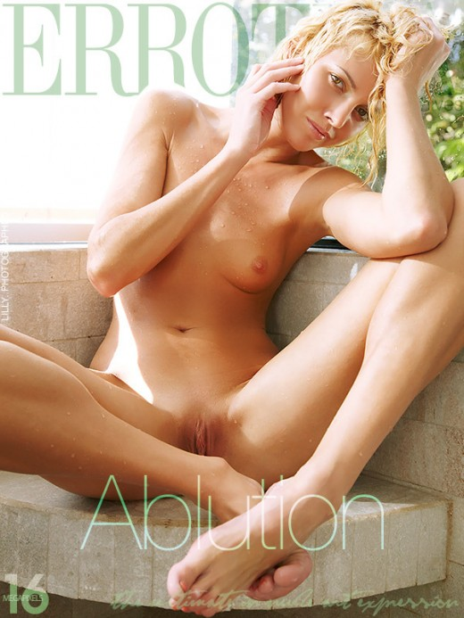 Lilly - `Ablution` - by Erro for ERROTICA-ARCHIVES