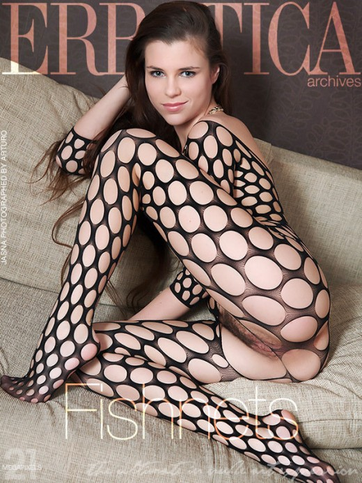 Jasna - `Fishnets` - by Arturo for ERROTICA-ARCHIVES