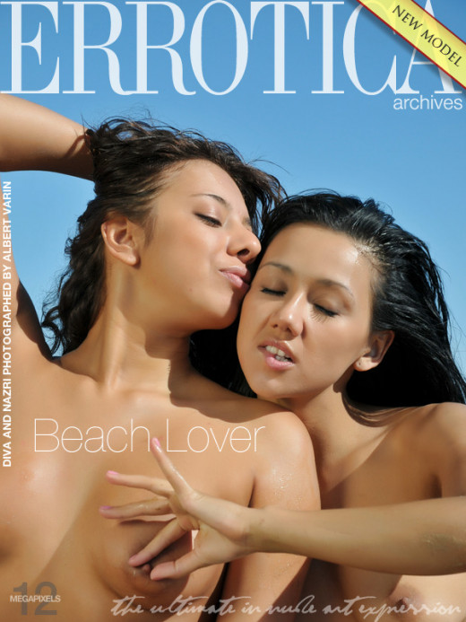 Diva & Nazri in Beach Lover gallery from ERROTICA-ARCHIVES by Albert Varin