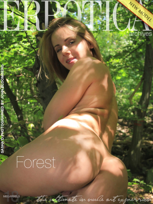 Sasha D - `Forest` - by John Bloomberg for ERROTICA-ARCHIVES